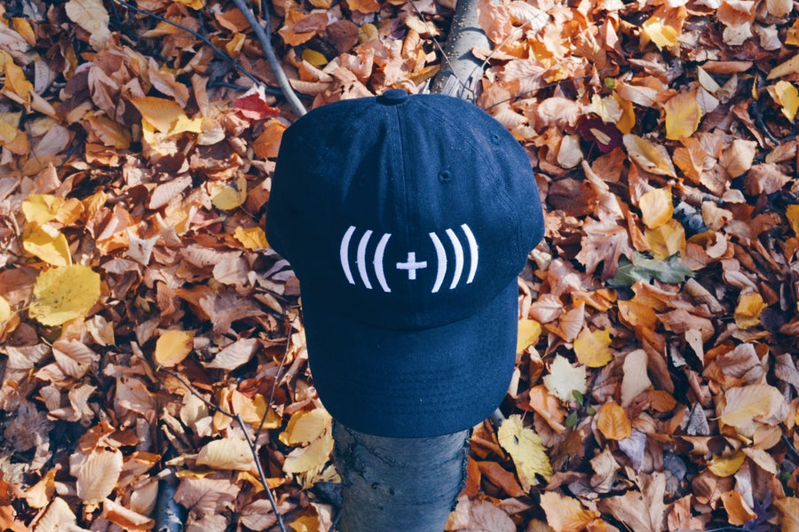 Image of PositiveVibesOnly Caps: Navy Blue ( 3 left )