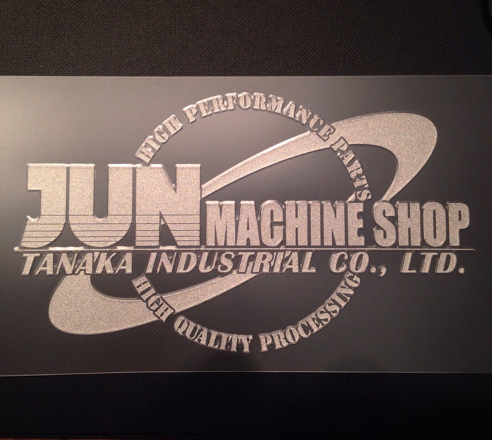 Image of JUN Auto Mechanic Limited Silver Logo Decal