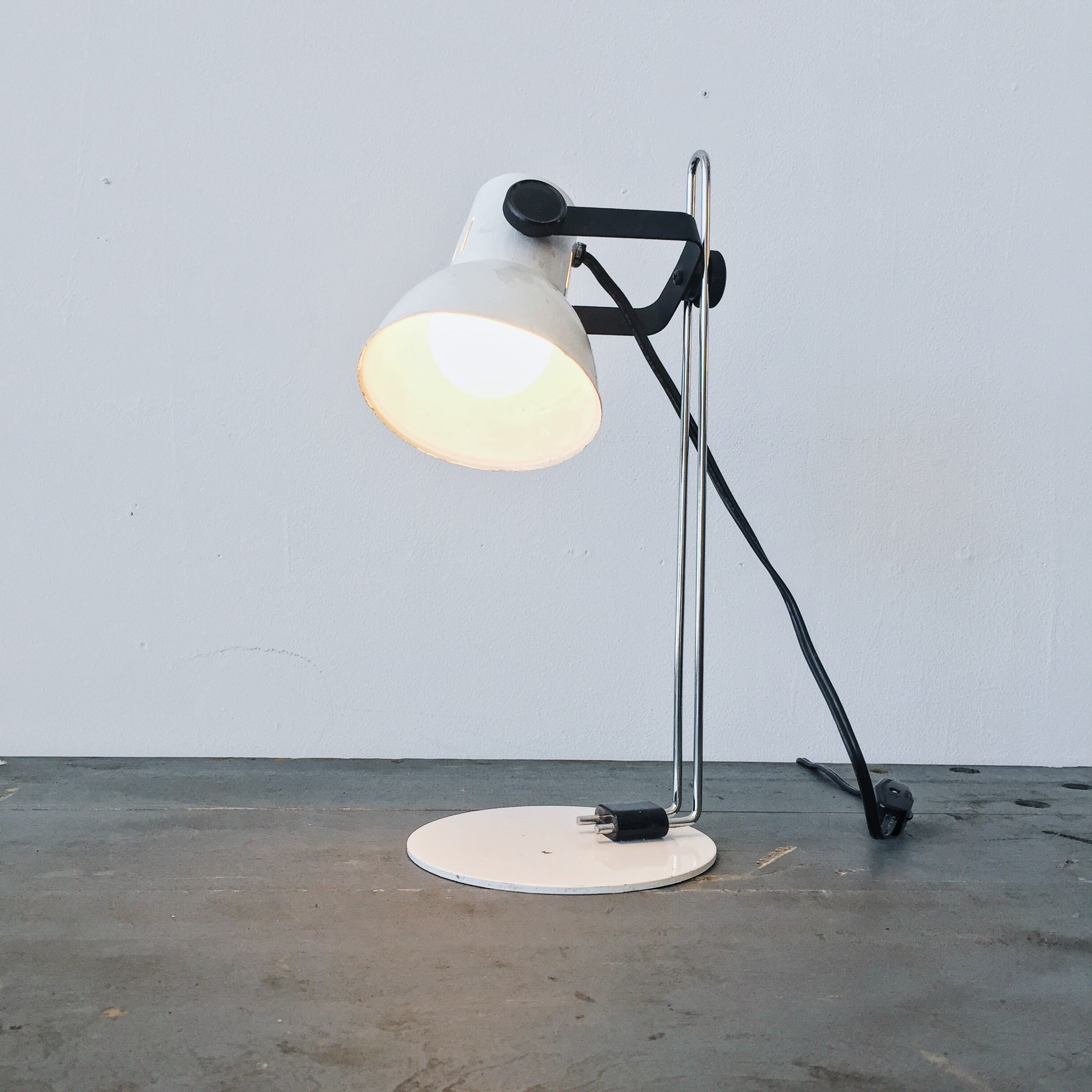 Hands Of Industry Small Mid Century Desk Lamp