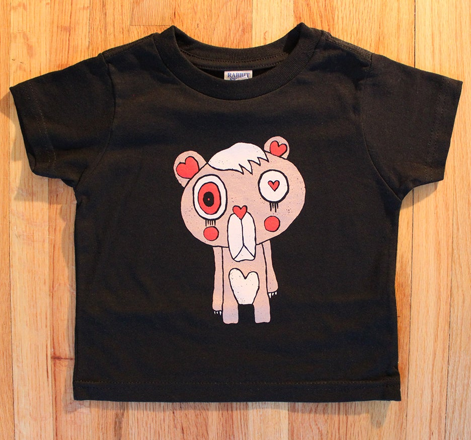 Image of I Don't Care Bear (Toddler T-shirt)