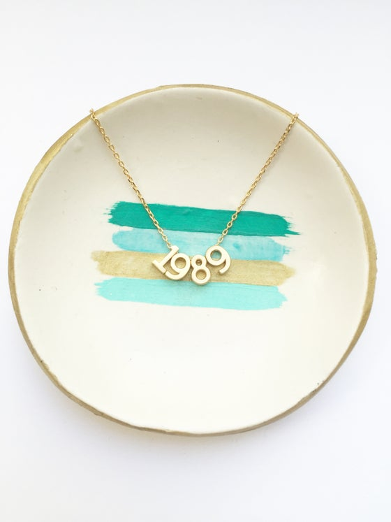 Image of Number Necklace