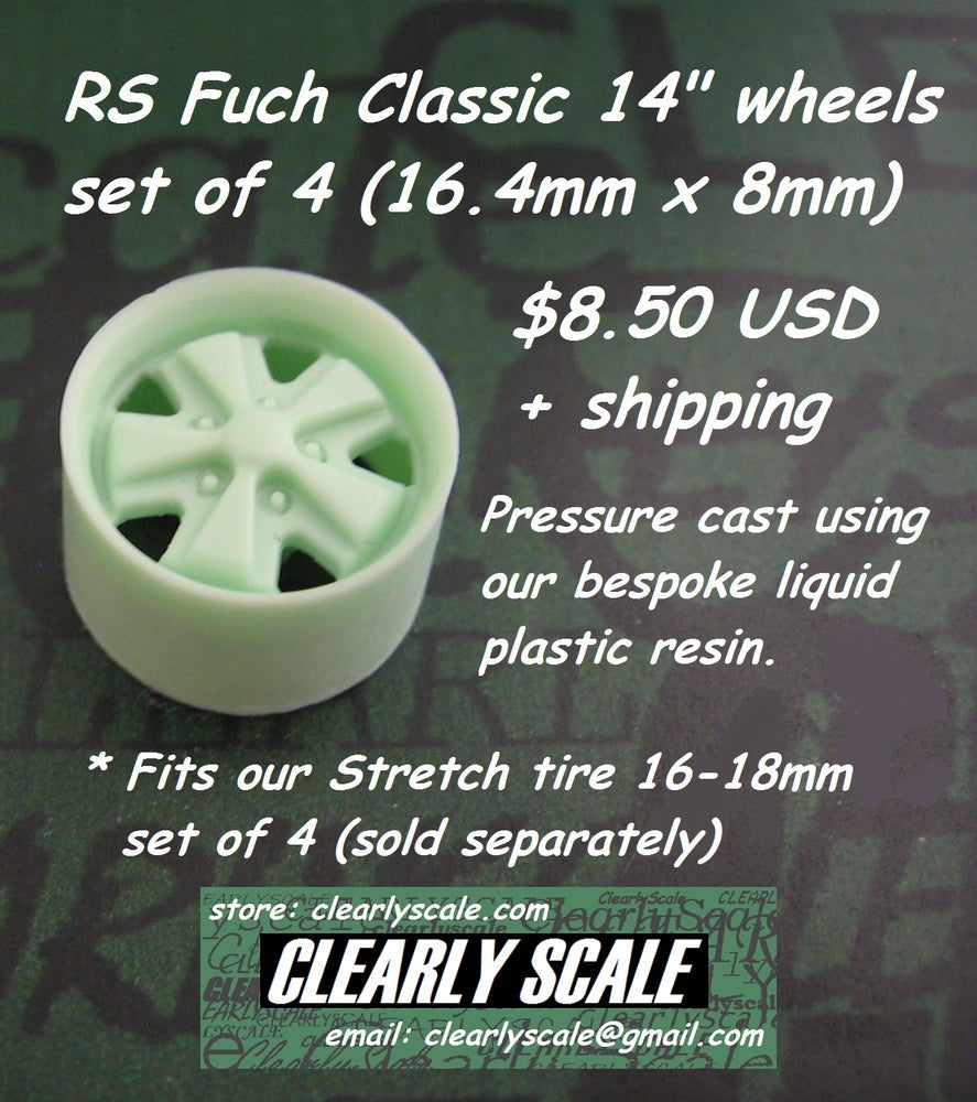 "Image of RS Fuch Classic 14"" Wheel Set of 4"