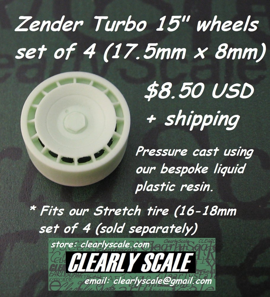 "Image of Zender Turbo 15"" Wheel Set of 4"