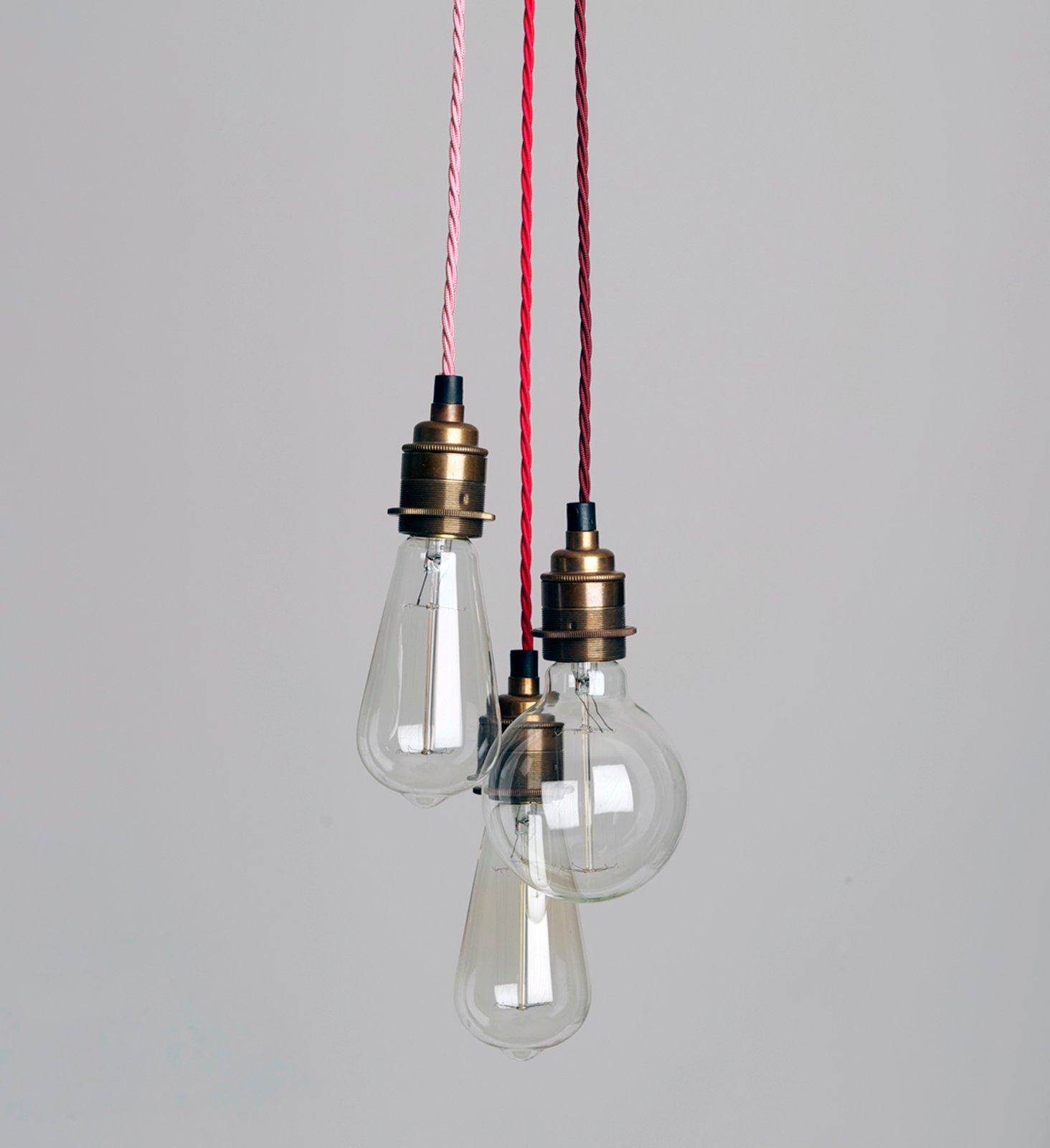 Three Strand Cluster Pendant Light H 252 Tte