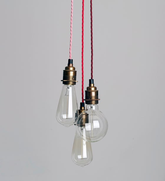 Image of Three Strand Cluster Pendant Light