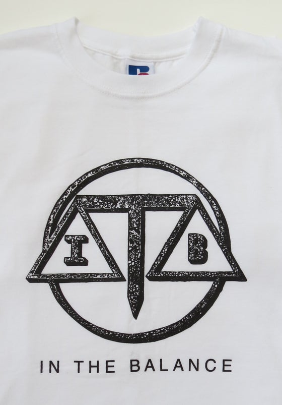Image of In The Balance T Shirt White