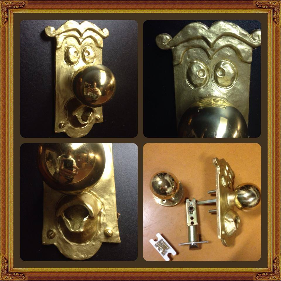Image of Door Handle - Alice In Wonderland
