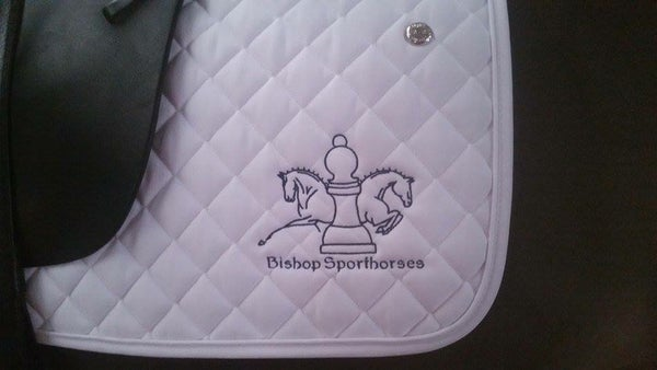 Image of Bishop Sporthorses Dressage Pad