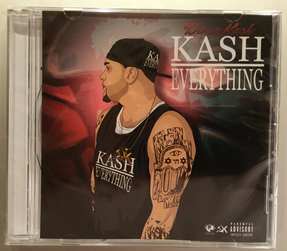Image of Dima Kash - Kash Over Everything CD