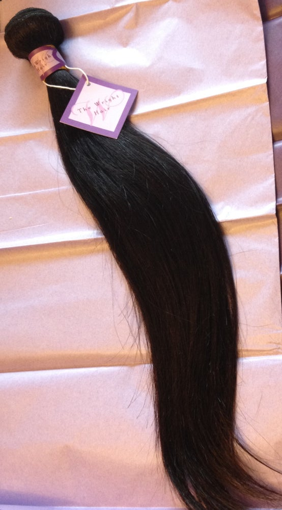 Image of 100% Virgin Human Hair  -Straight