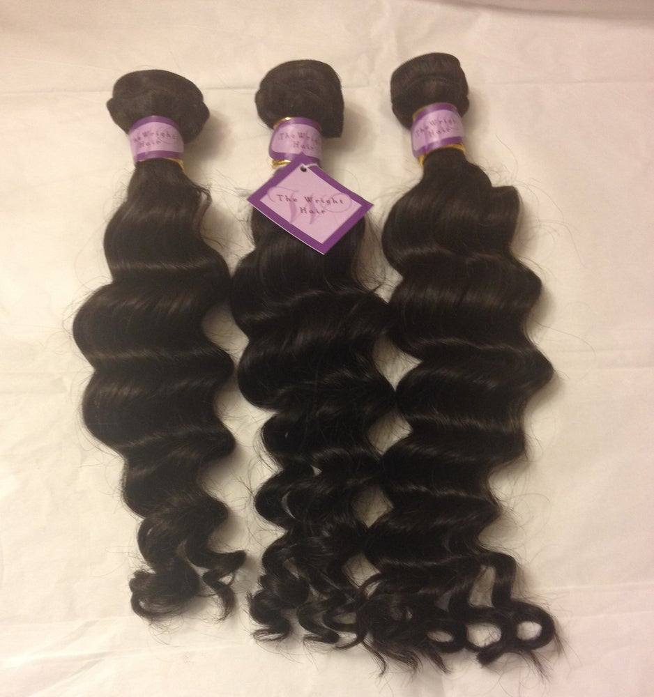 Image of 100% Virgin Human Hair-Loose Deep Wave