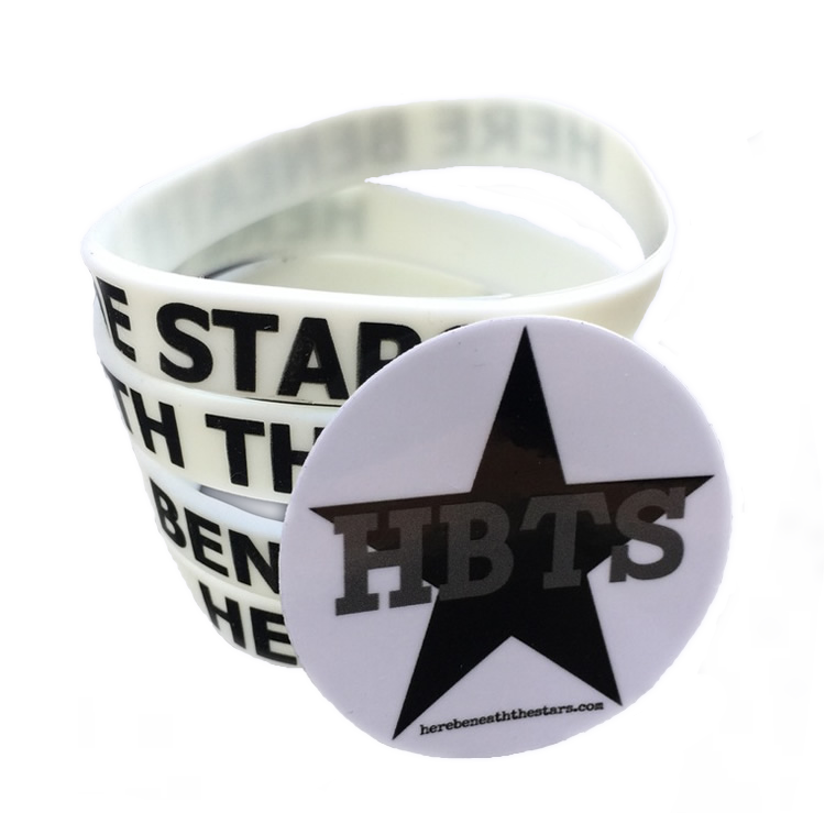 Image of HBTS Glow Bracelet and Sticker Bundle