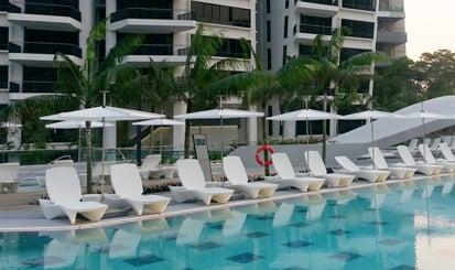 Image of sunray sun lounge