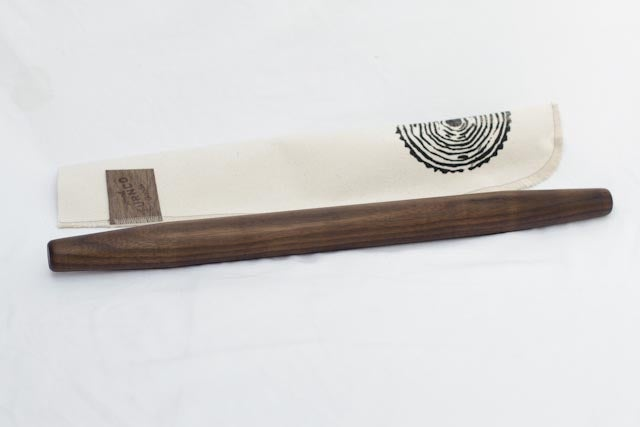 Image of Walnut or Madrona french rolling pin