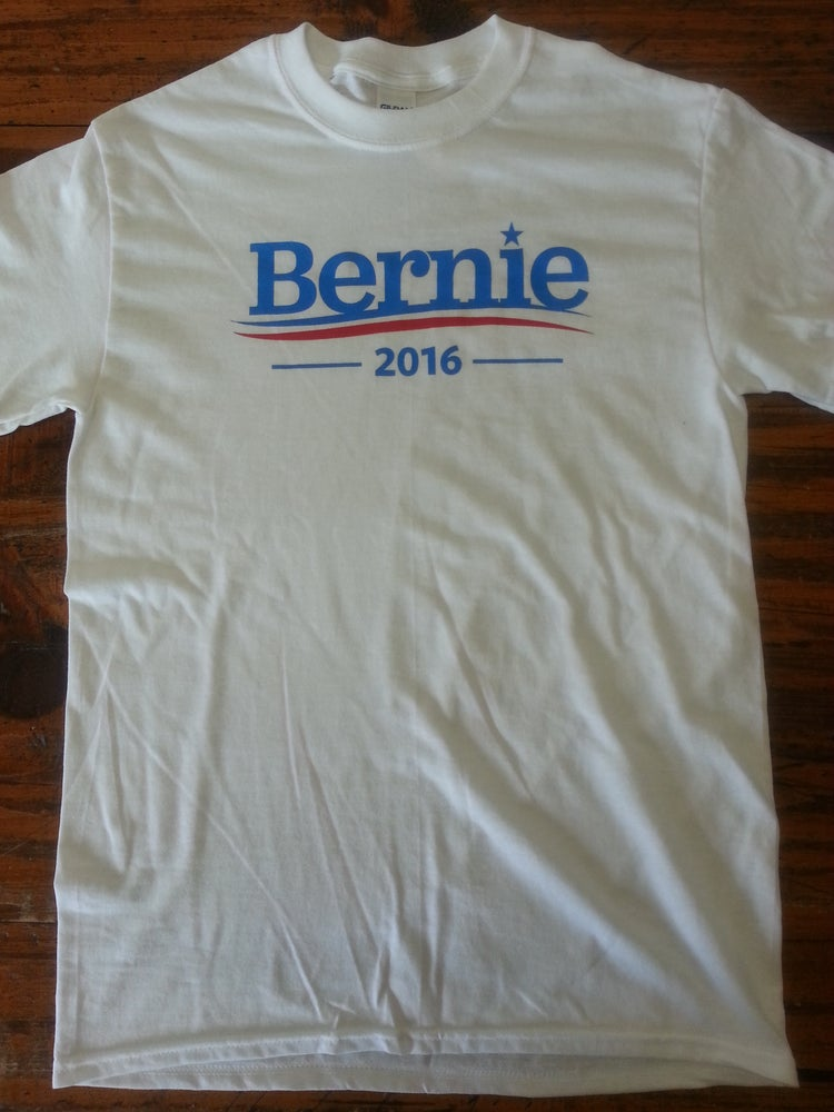 Image of Bernie 2016 - Bernie Sanders T-Shirt - Feel The Bern - Bernie for President 2016