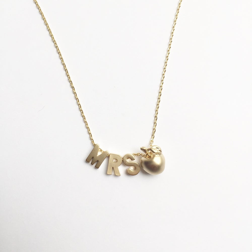Image of Teacher Necklace