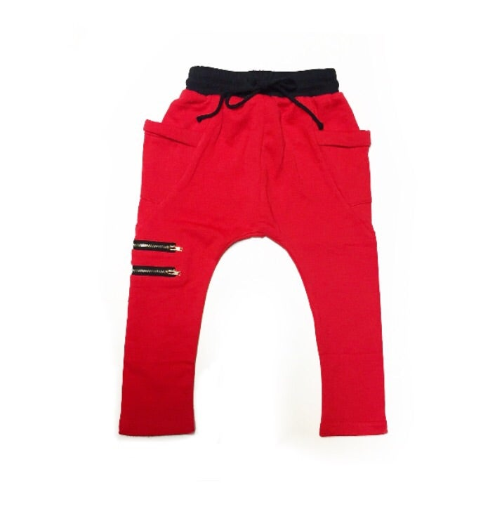 Image of Red Zipper Harems