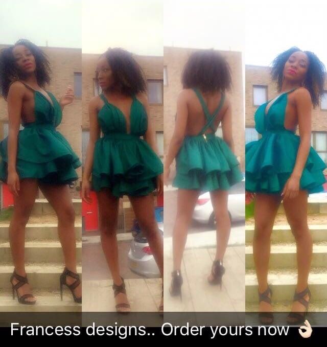 Image of JennyRuffle Dress