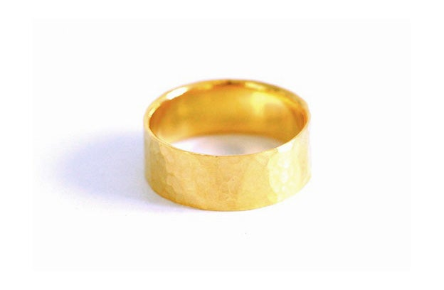 Image of Echo, Ring in Fairmined gold 18k