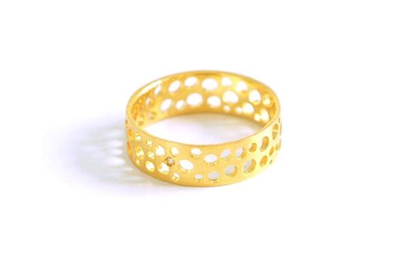 Image of Écume de mer, Ring in Fairmined gold 18k