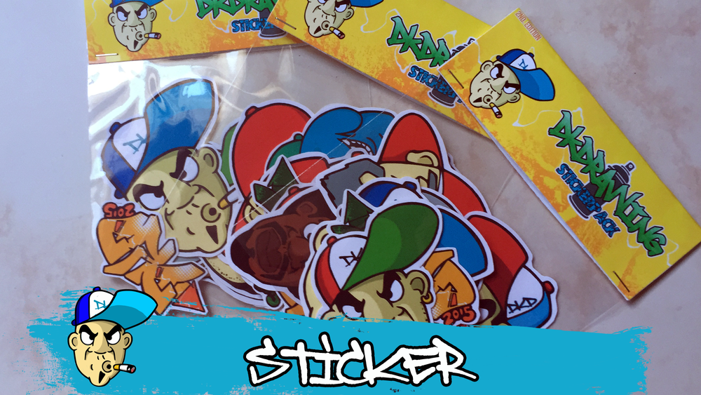 Image of DKDrawing Stickerpack #2 11 Vinyl Sticker