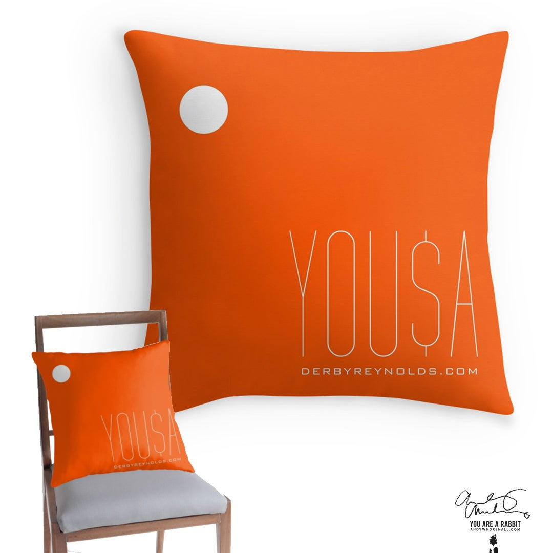 Image of YOU$A –Pillow