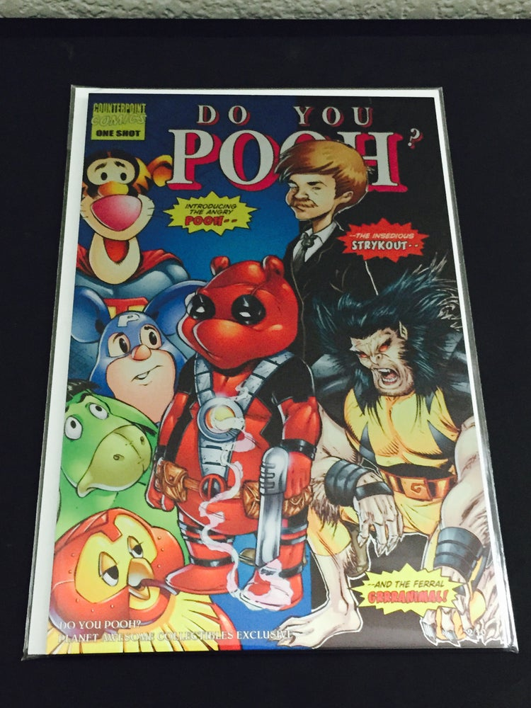Image of Do You Pooh? #1 New Mutants 98 Homage Metal Edition Variant by Marat Mychaels