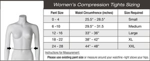 Image of GYM COMPRESSION-GIRL TIGHTS-PINK