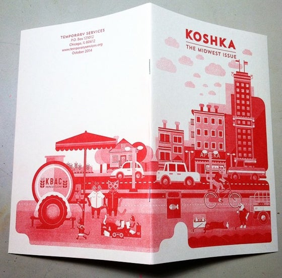 Image of Koshka #4: The Midwest Zine