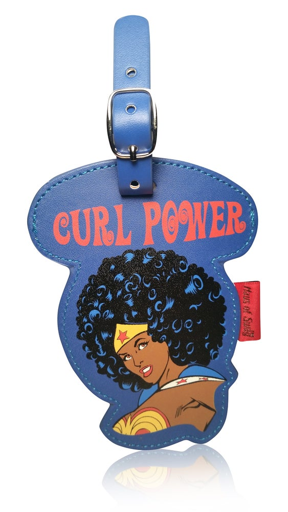 Image of Curl Power: Luggage Tag