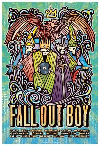 Image of Fall Out Boy - EU/UK Tour 2015