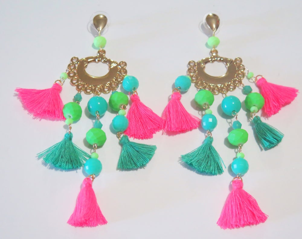 Image of Amparo, Te Amo Tuti Fruti Earrings