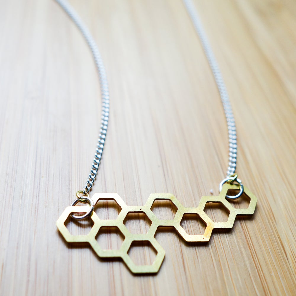 Image of Hive Charm Necklace