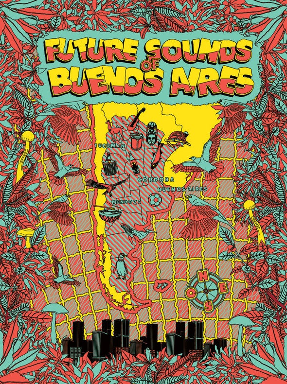 Image of Future Sounds of Buenos Aires (Vinyl + CD + Free Poster)