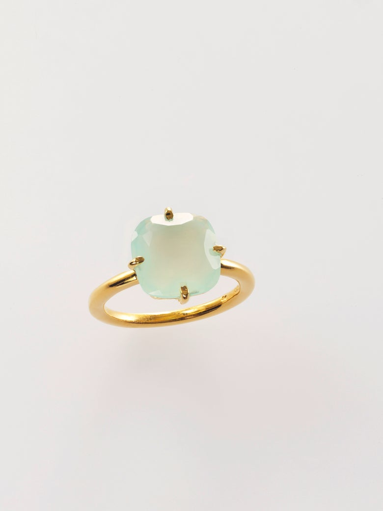 Image of Signature Ring Aqua