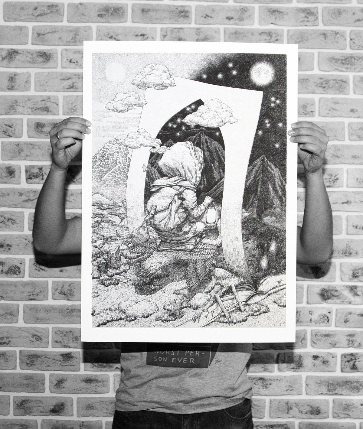 "Image of Rustam QBic ""Day & Night"" Black & White"