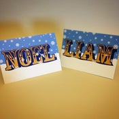 Image of Noel/Liam Reversible Christmas Card (Pack of 10)