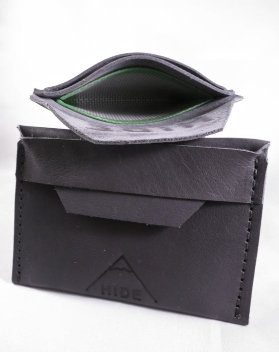 Image of Professional Hide Wallet - Grey Smoke Dab Wallet
