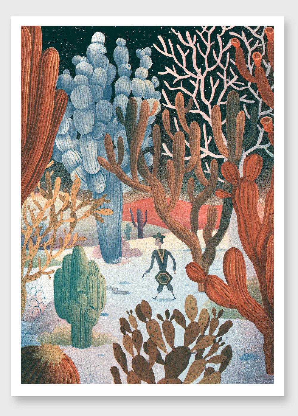 Image of Cactus Landscape