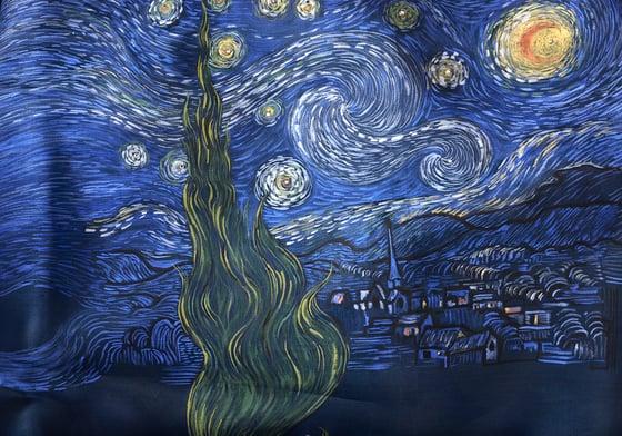 Image of Shawl Van Gogh C2