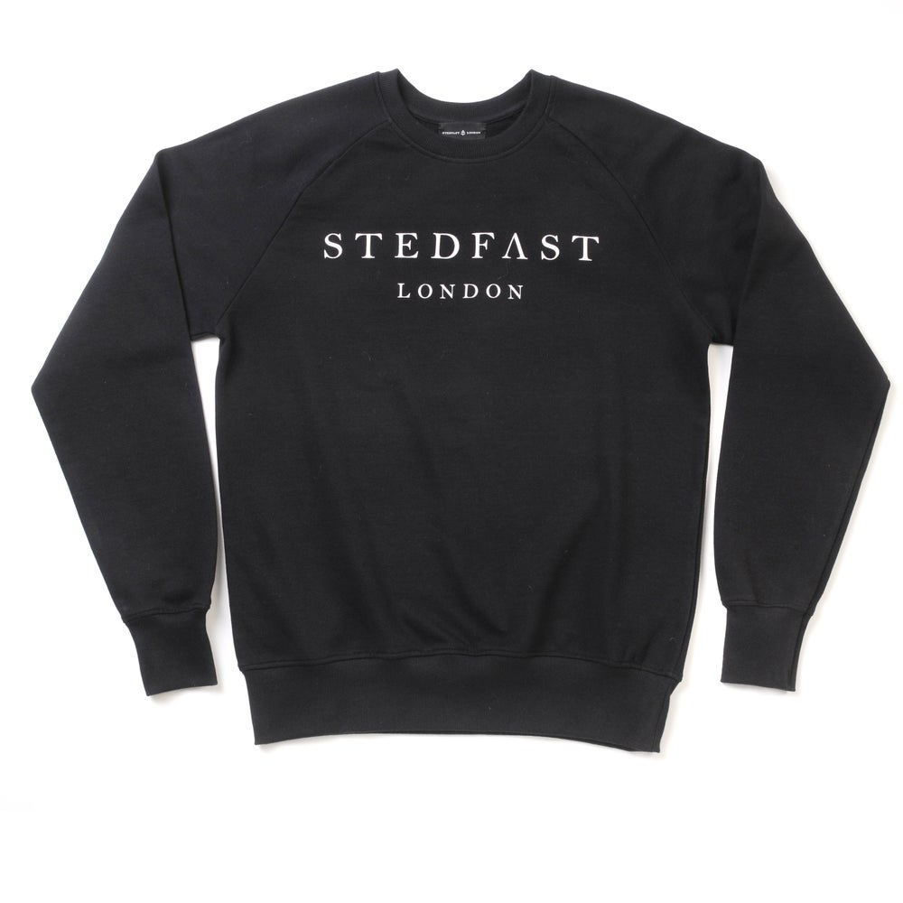 Image of Mens Stedfast black Sweatshirt