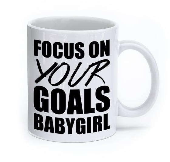 Image of Focus On Your Goals Mug