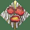 """Rose Goldie"" Print Set."