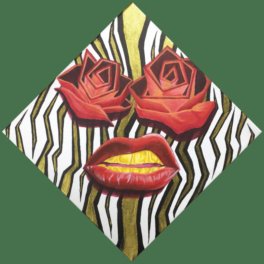 "Image of ""Rose Goldie"" Print Set."