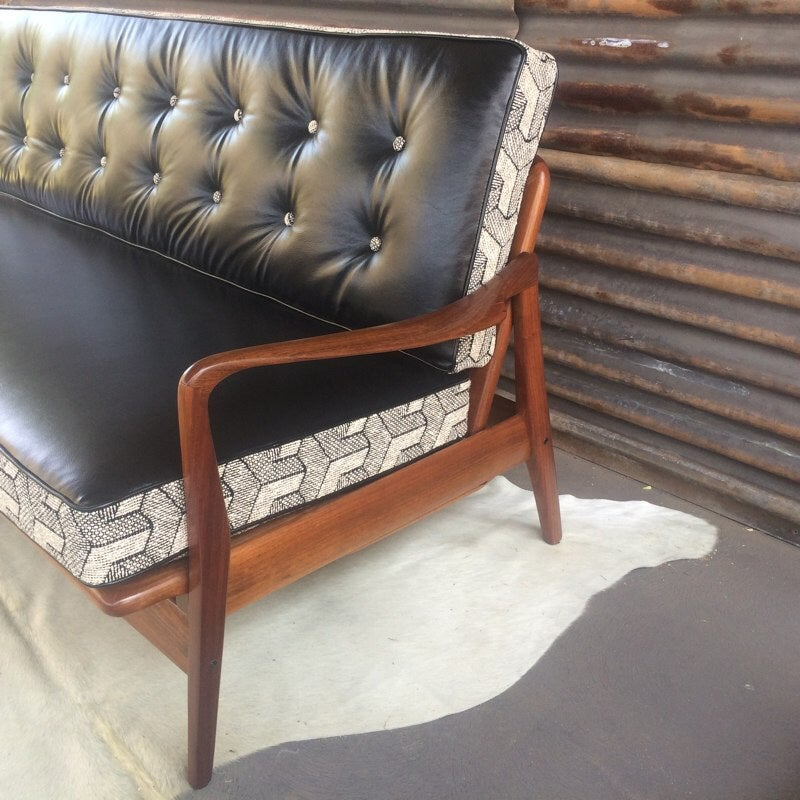Image of Harvey Danish 3 Seater Danish Lounge Day Bed