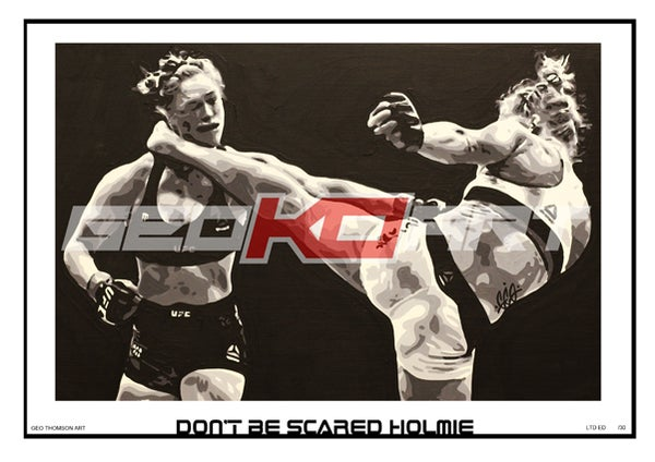 Image of HOLLY HOLM V RONDA ROUSEY