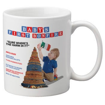 Image of Baby's First Bonfire Mug