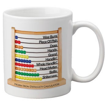 Image of Norn Iron Difficulty Calculator Mug