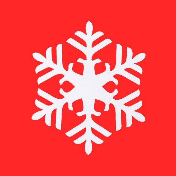 Image of Snowflake Stencil 1