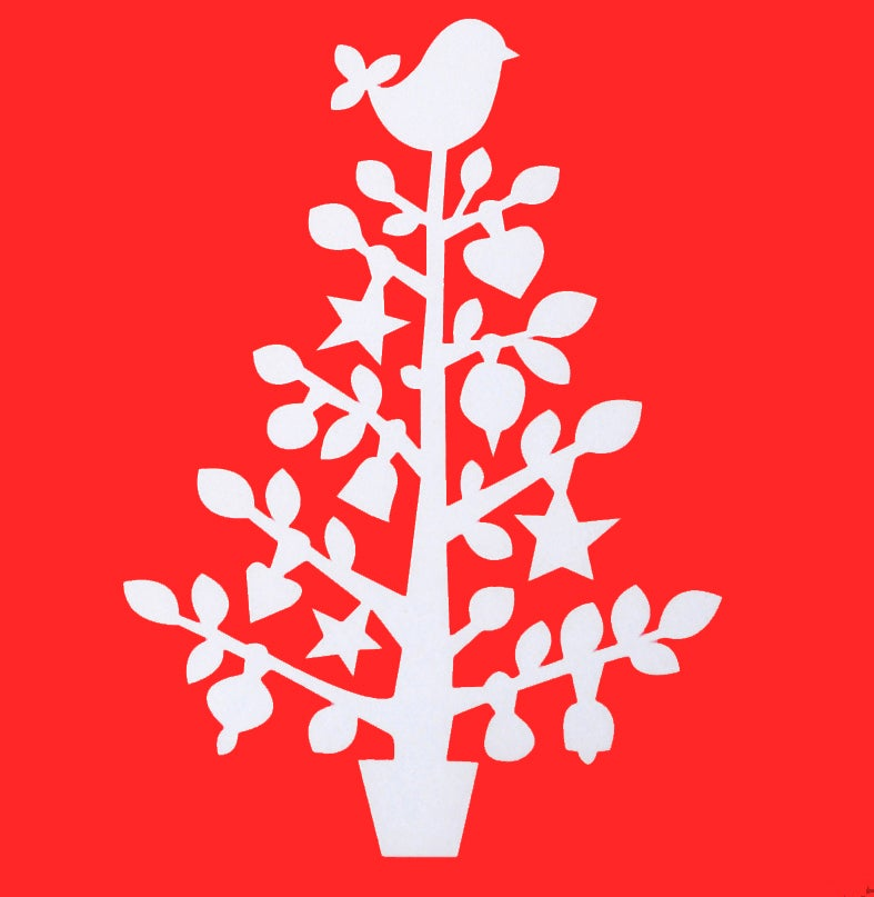 Image of Christmas Tree Stencil
